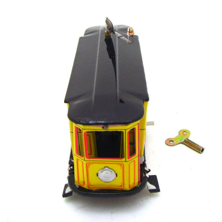Hand-Made Trolley Car Wind-up Toy Adult Collection