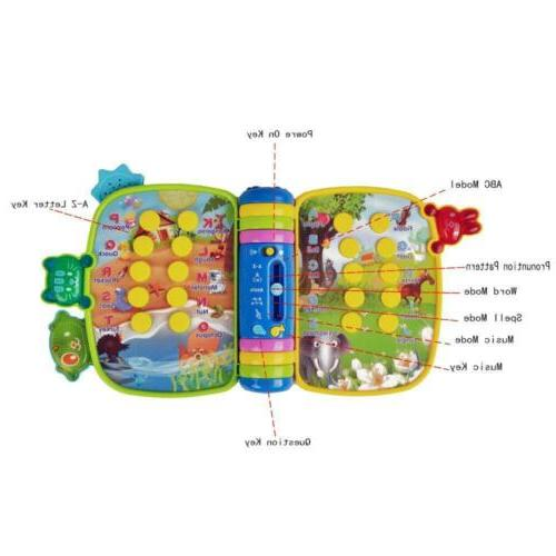 HANMUN Musical Learning Table Baby Education