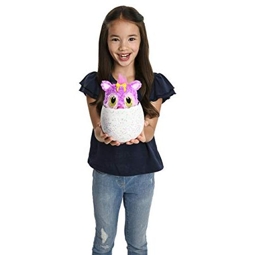 Hatchimals HatchiBabies Chipadee Egg with Interactive Baby Ages 5 Up