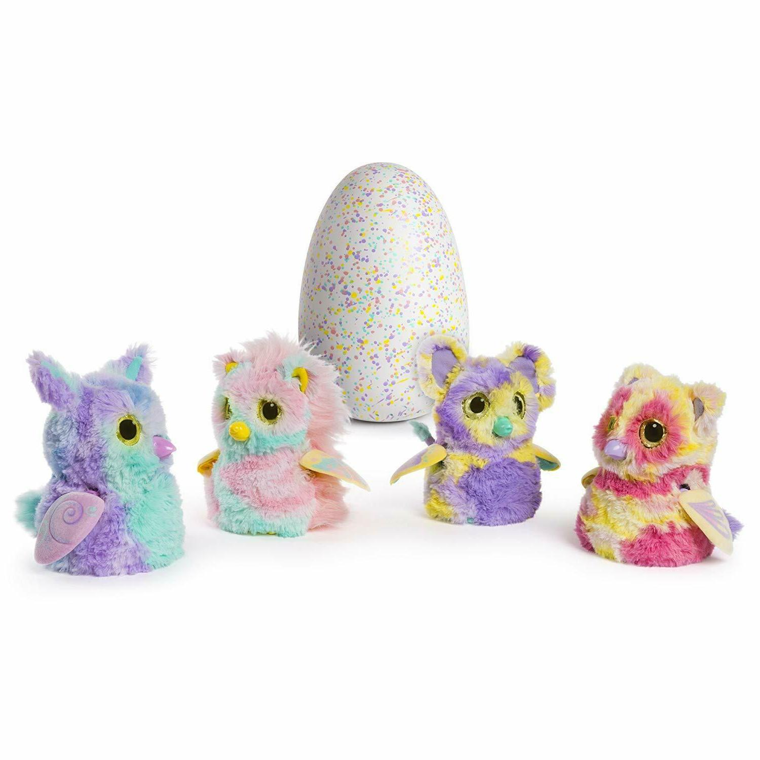 Hatchimals Mystery Color Fur Interactive Characters Expandable
