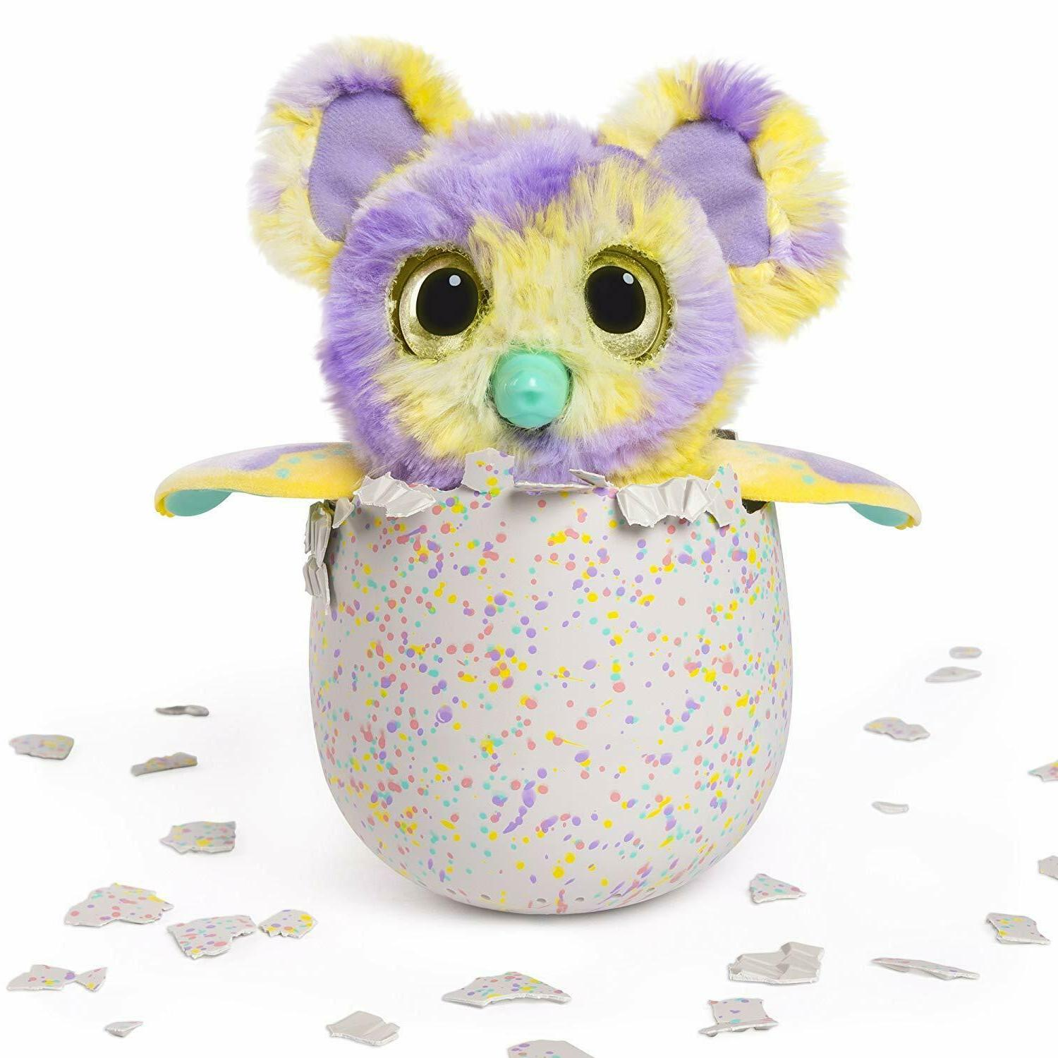 Hatchimals Mystery Color Fur Interactive Expandable