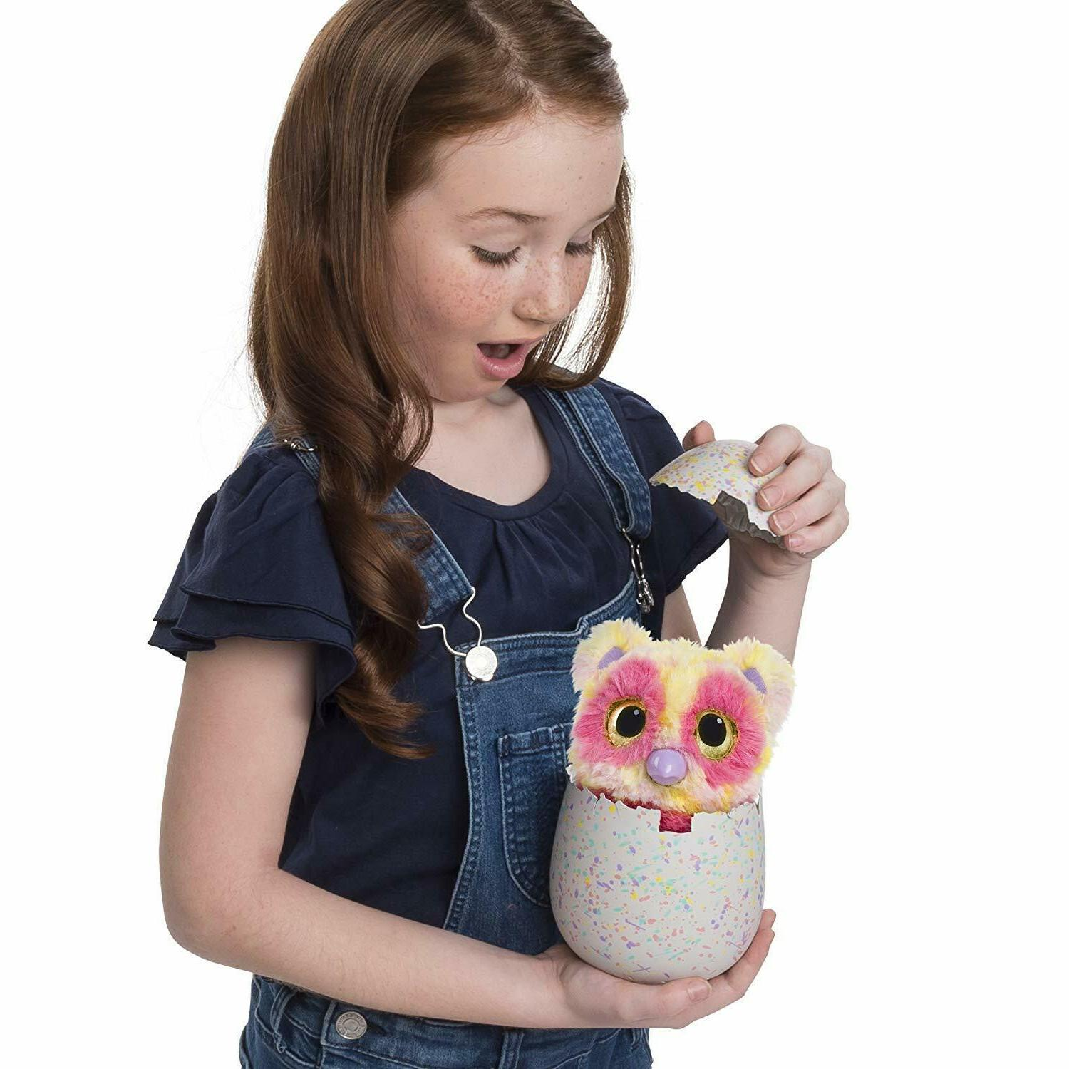 Hatchimals Mystery Egg Color Fur Interactive Expandable