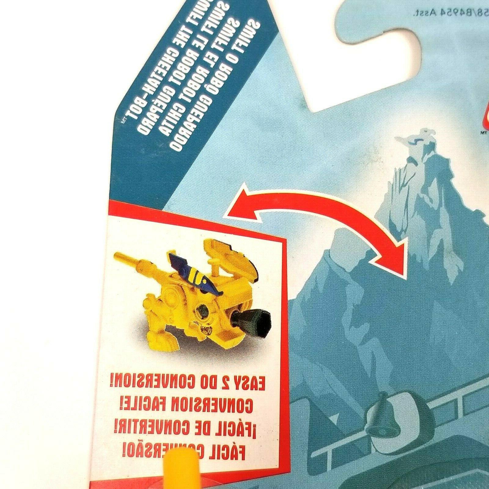 Playskool Heroes Transformers Bots Swift the Cheetah Bot Figure