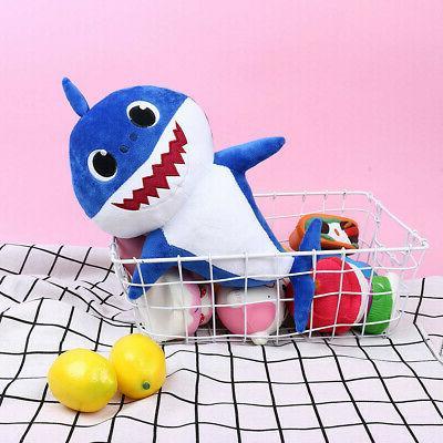HOT! Baby Shark Plush Singing Doll Stuffed