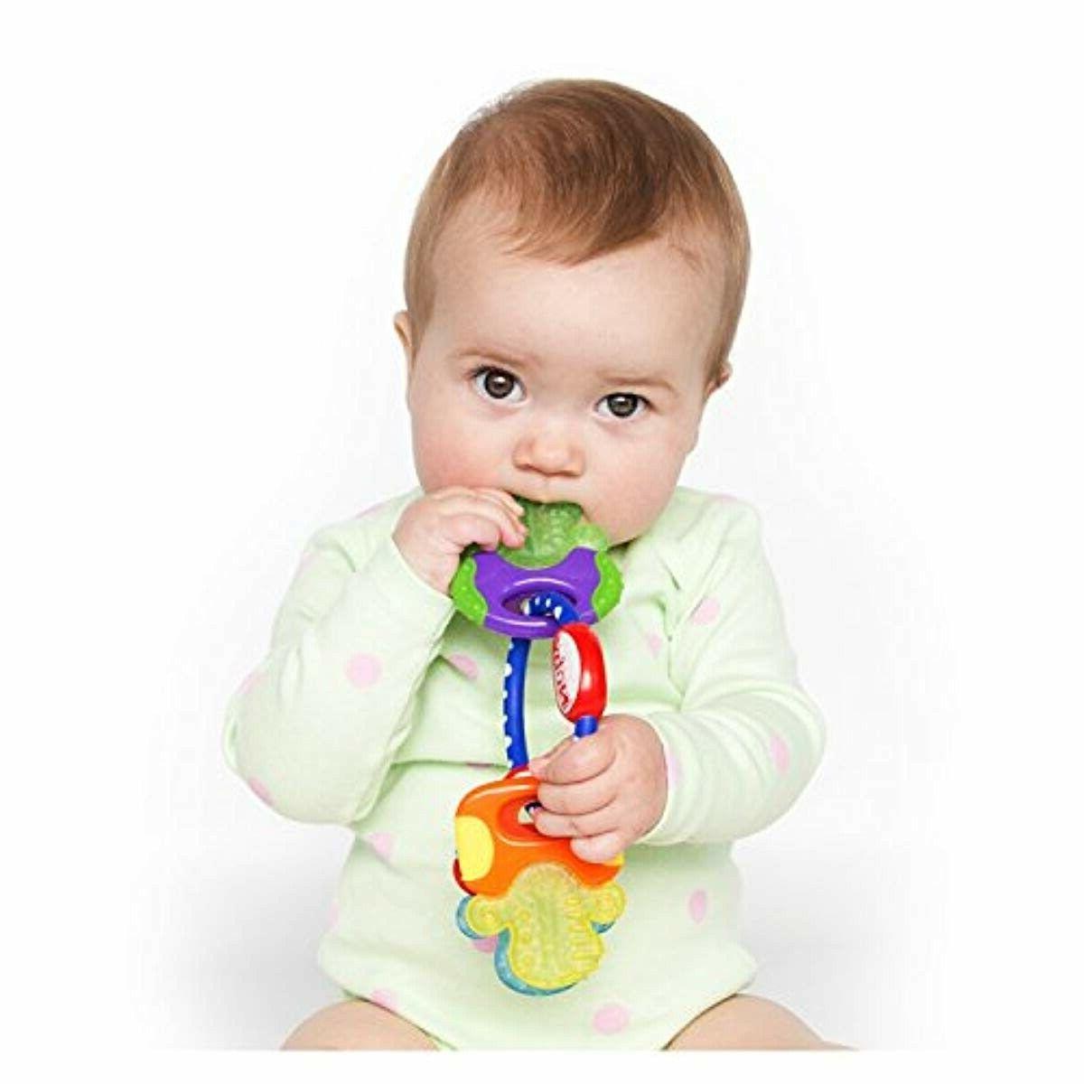 Nuby Keys Gentle Baby Toddler Kids Teething