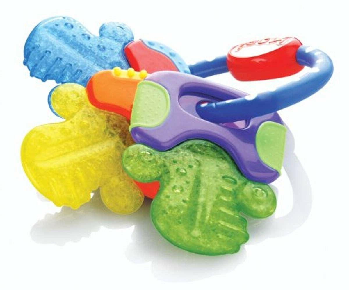 ice gel teether keys gentle cooling baby