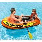 Inflatable Raft Paddle Boat Durable Best Pool Toys Large Flo