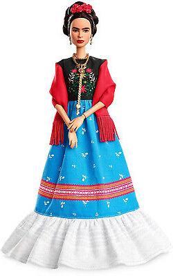 Barbie Inspiring Women Frida Kahlo Doll Kid Toy Gift