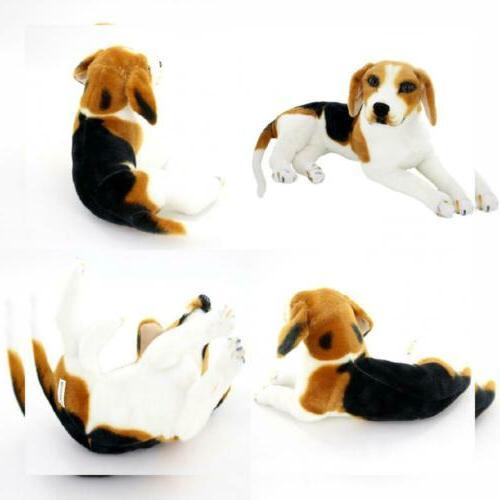 "Jesonn Realistic Stuffed Animals Dog Plush Toys Beagle,15.3"""