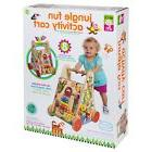 ALEX Toys Jr. Jungle Fun Activity Cart Push Tote Storage Act