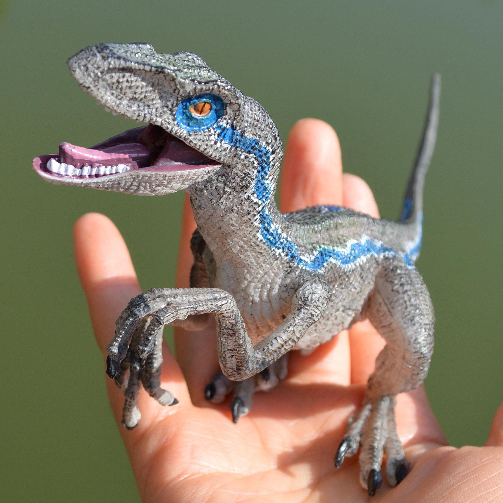 Jurassic Blue Dinosaur Velociraptor Toy Educational Birthday Gift