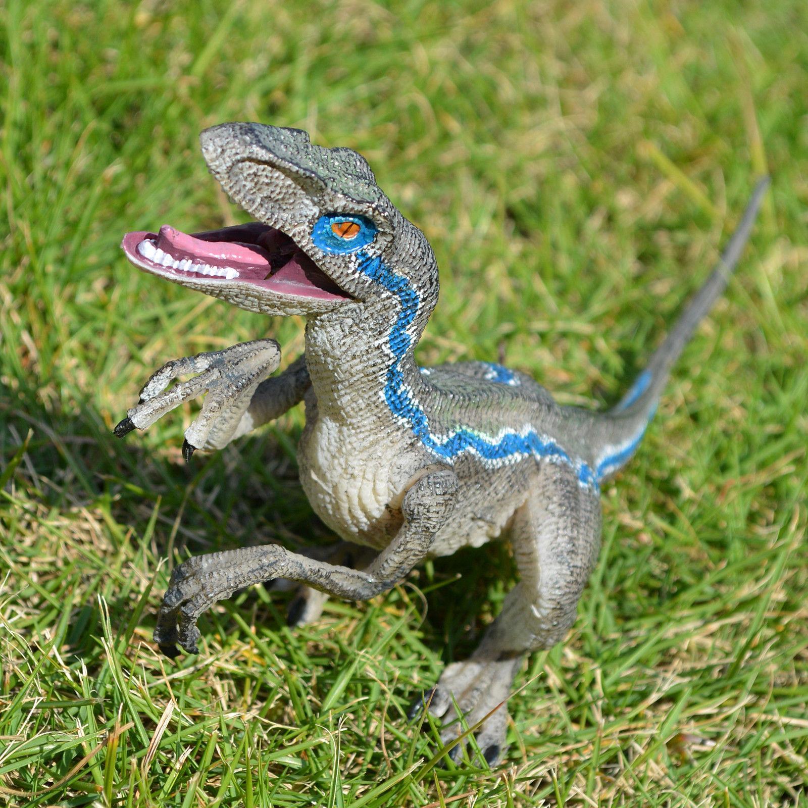 Jurassic Blue Velociraptor Birthday Gift