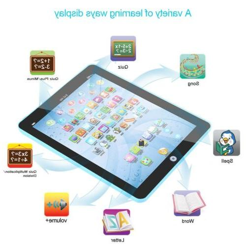 Kids Baby Early Tablet Educational Electronic Device