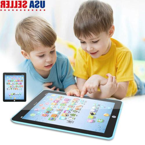 kids electronic tablet toy learning touch screen