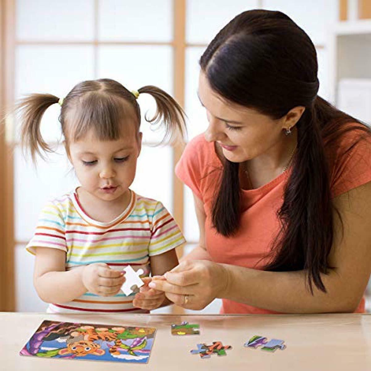 Kids Toys Educational Set 6-In-1-Box Pres