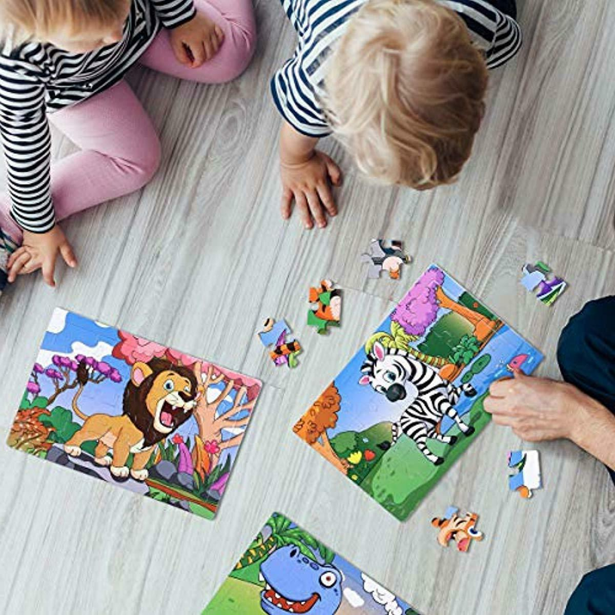 Kids Puzzles Educational Puzzles Set