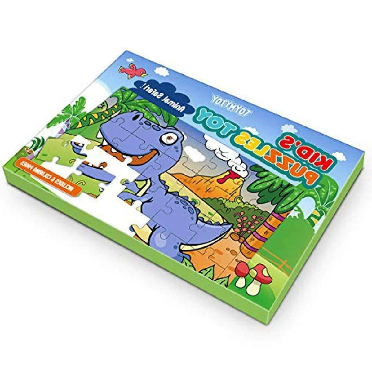 Kids Puzzles Toys Educational Set 6-In-1-Box