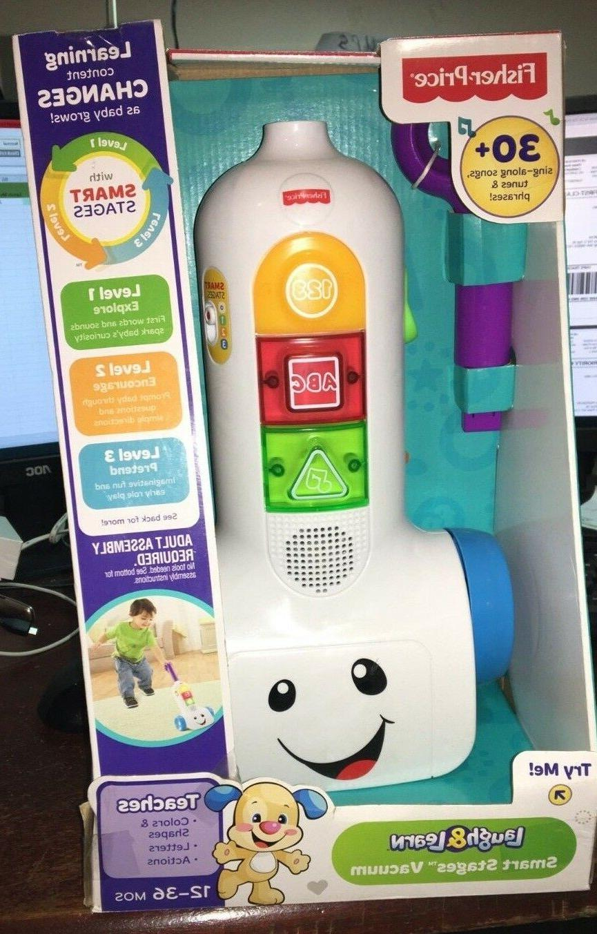 Fisher-Price Laugh /& Learn Smart Stages Vacuum BFK73