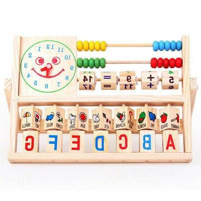 Kids Baby Learning Early Educational Abacus USA