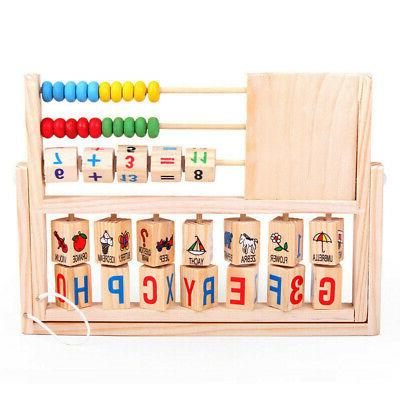 Kids Learning Abacus Wooden USA
