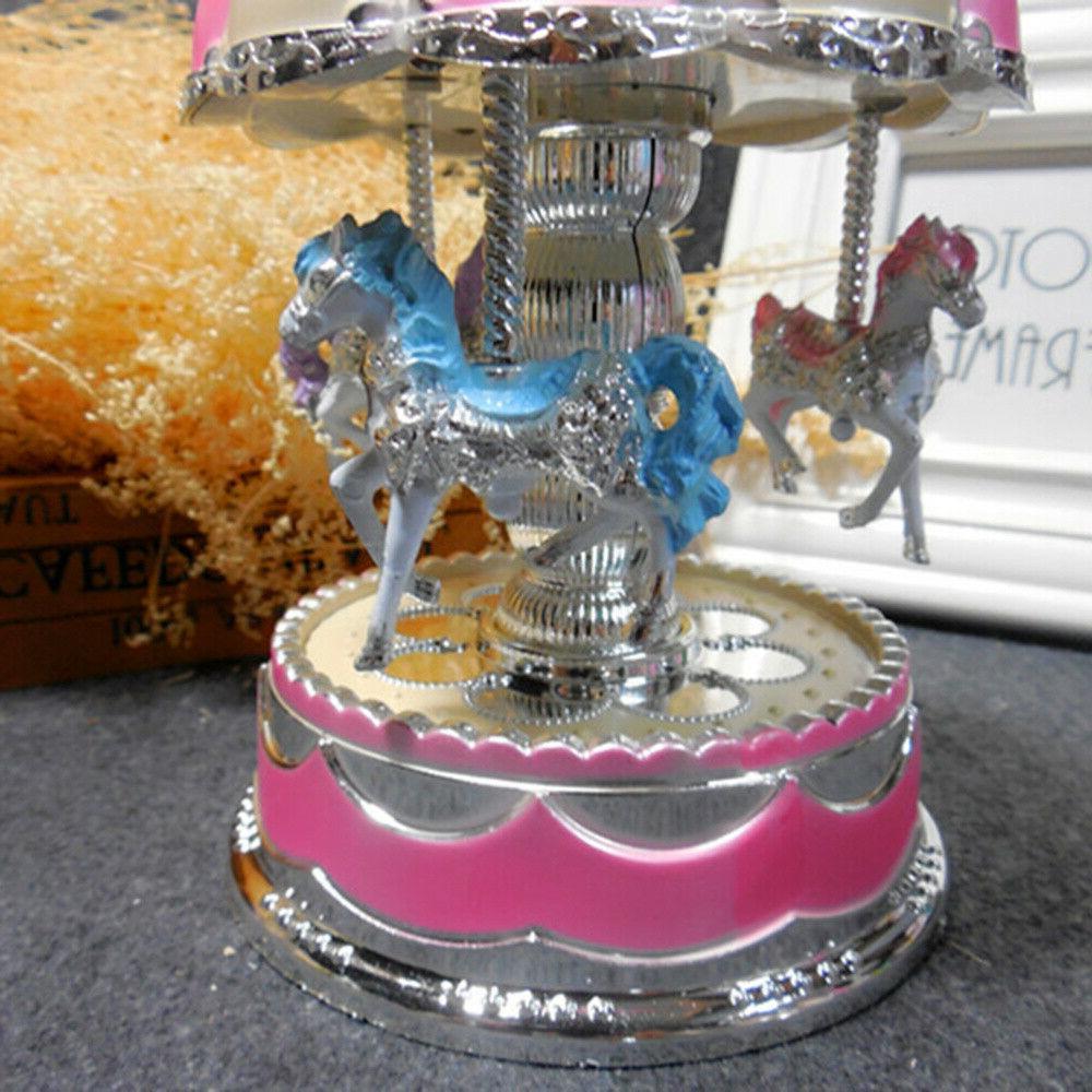 LED Horses Girl Baby Birthday