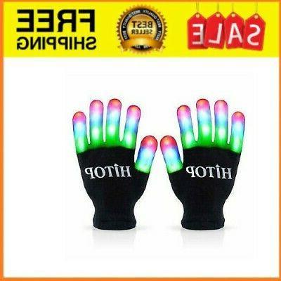 led gloves light up kids toys boys