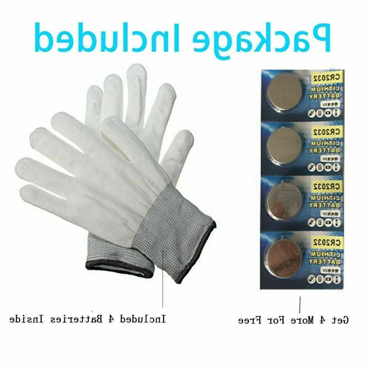 Led Gloves Kids Boys for 5 Years