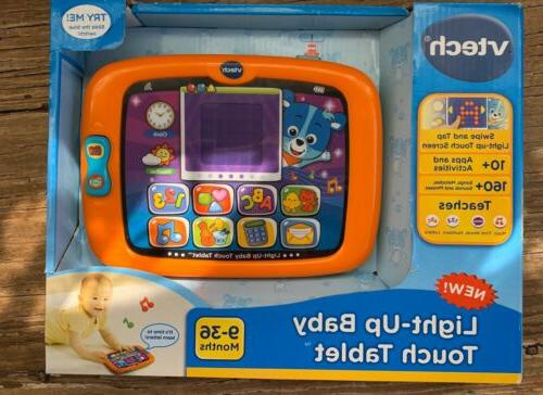 light up baby touch toy music tablet