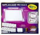 Crayola Light-up Tracing Pad Pink, Coloring Board for Kids,