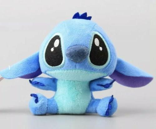 """Lilo & Stitch Stitch Plush Stuffed Animal Toy 4"""" Disney Do"""