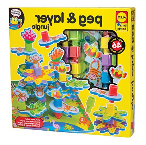 little hands peg layer jungle