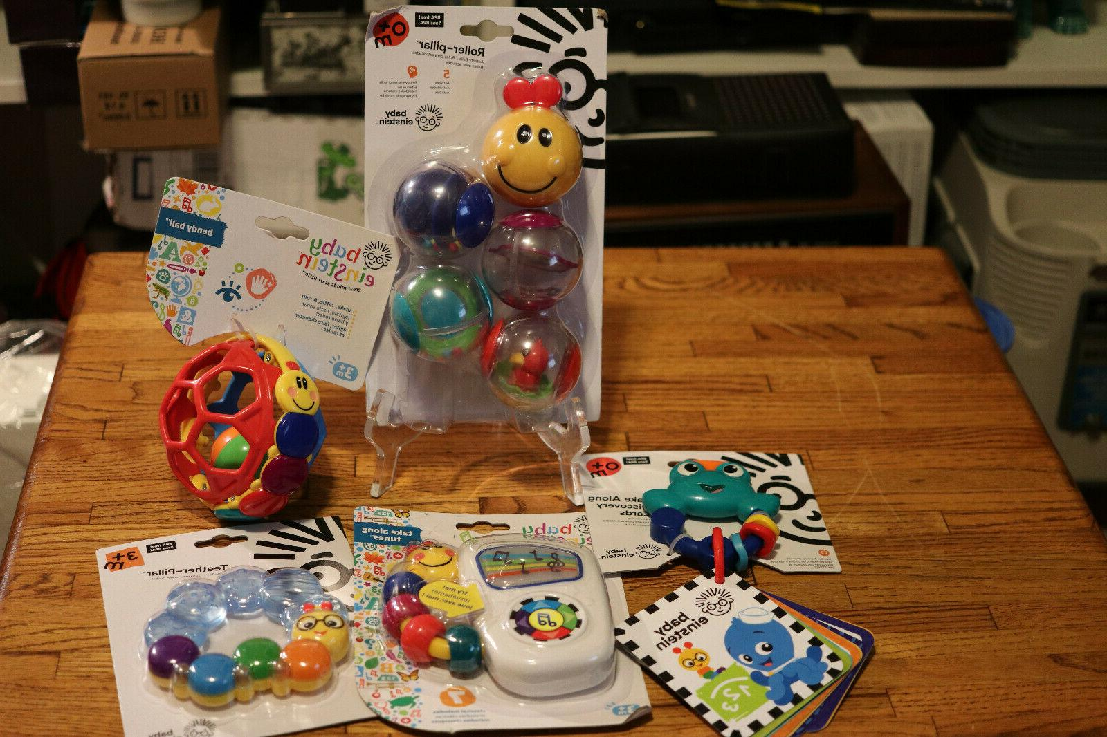 lot of 5 play toys for infant