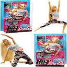 """Barbie Made To Move Doll Blonde Multicolor 22"""" Toys & Games"""