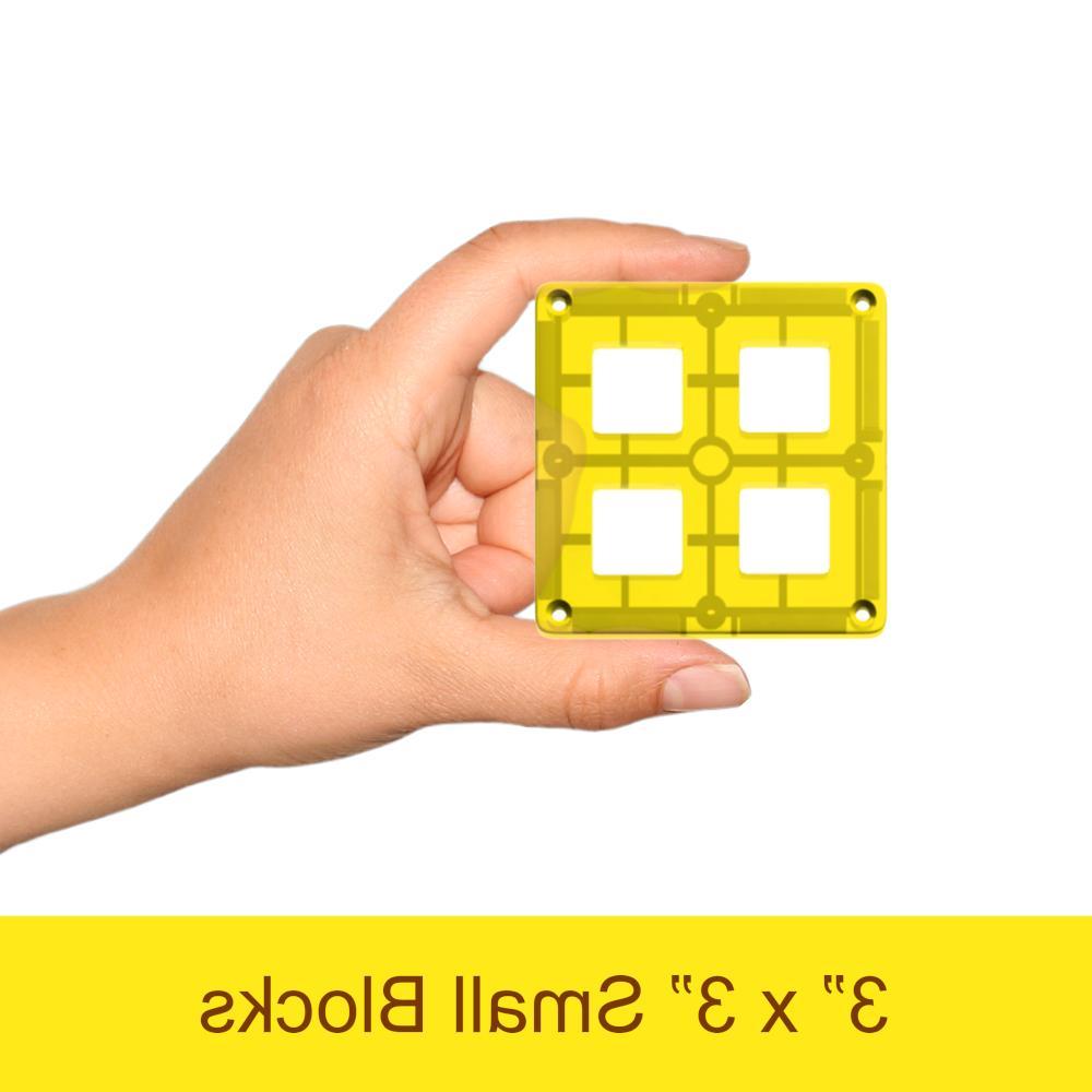 Magnetic Tiles Blocks Set for Kids Learning Educational Toys Boys