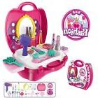 Makeup For Girls Pretend Play Dress up Toy Kit , 21 Pieces B
