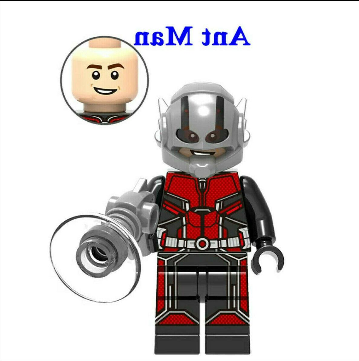 Avengers Minifigure Fits End Iron Man Captain