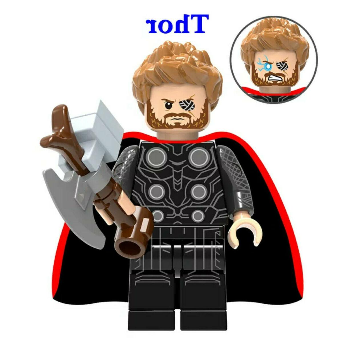 Avengers Fits Lego End Game Iron Captain