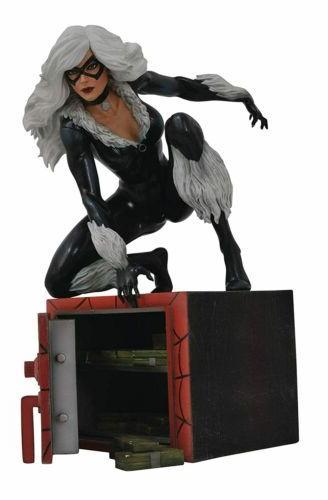 marvel gallery black cat pvc figure