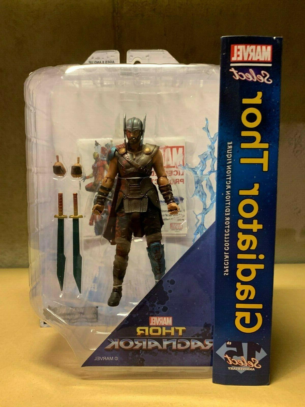 marvel select thor ragnarok gladiator thor action