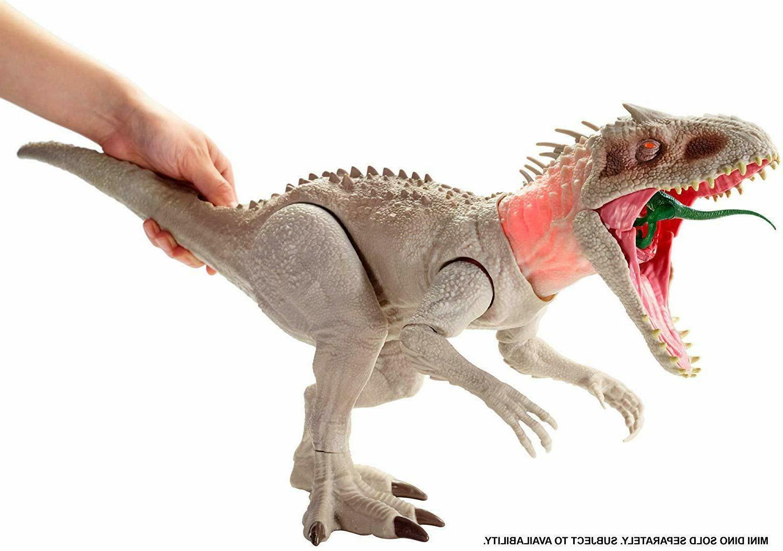 Mattel Jurassic Rivals INDOMINUS T-REX STOCK