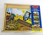 Melissa & Doug Construction Vehicles 4 Wooden Puzzles 12 Pie