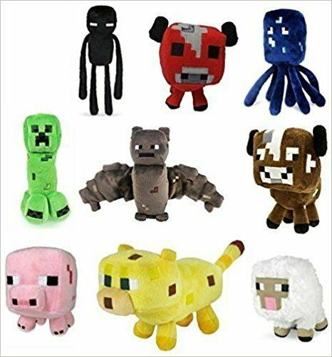 minecraft plush toys 6 to 8 inches