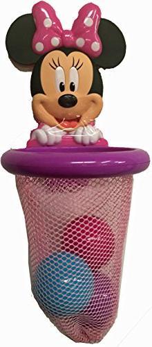 Disney Minnie Mouse Bath Basketball Hoop