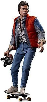 Movie Masterpiece Back To The Future Marty McFly 1/6 scale J