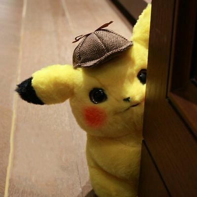 "Movie Pokémon Detective Lovely Plush Toy 11"""