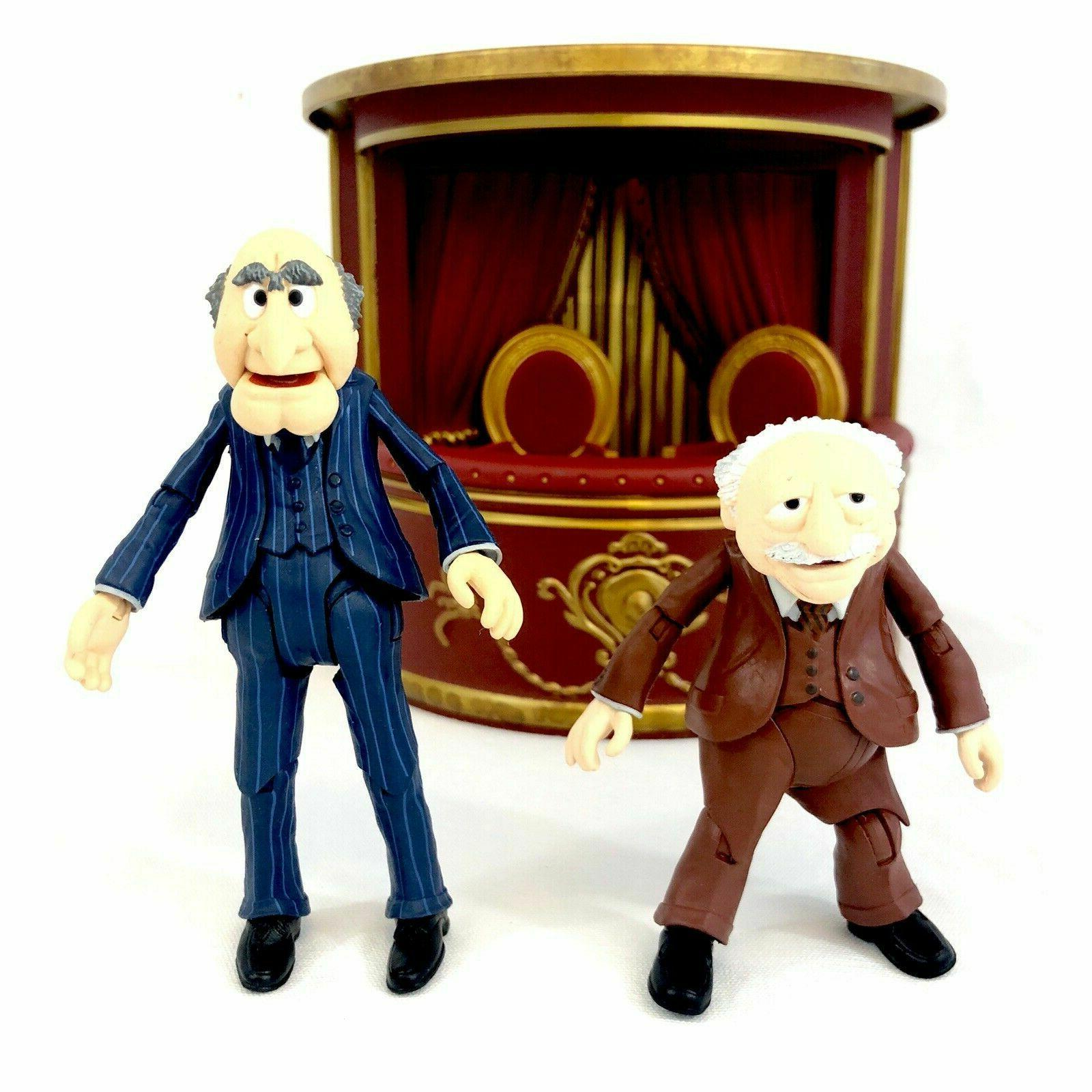 Diamond Muppets STATLER and 2 Pack Balcony