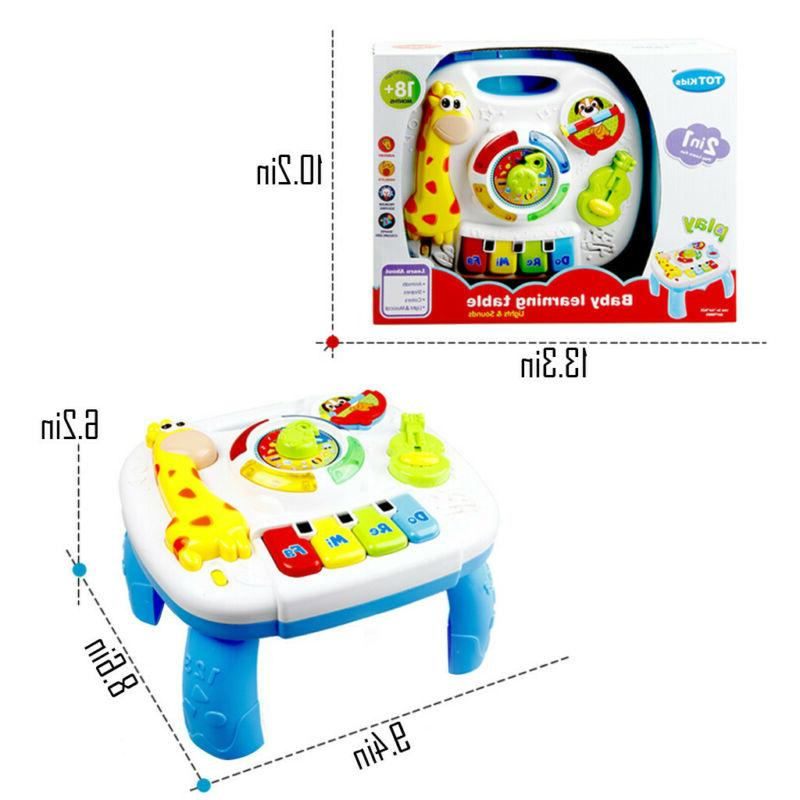 Music Study Table Toys Children's Electronic Education Toys