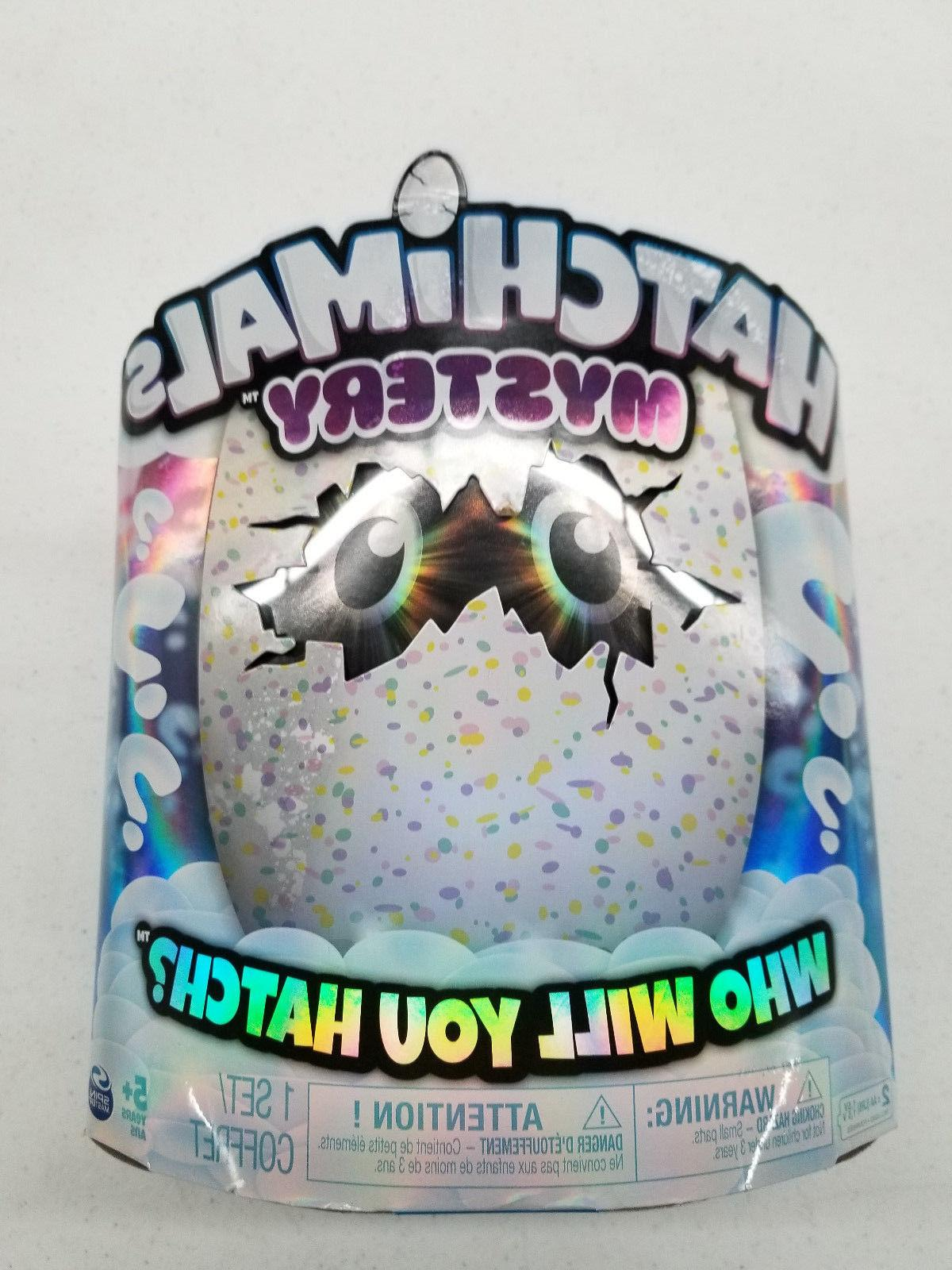mystery interactive toy creature egg who will