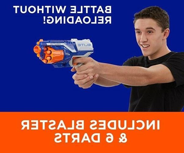 Nerf Disruptor Blaster Gun Shoot Strongarm Gift