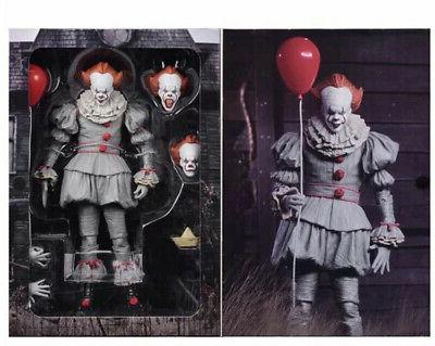 2017 scale it ultimate pennywise clown action